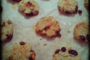 Mandulás – kókuszos keksz