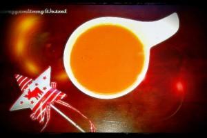 Narancsos sütőtökleves