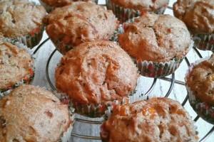 Póréhagymás – kukoricás muffin