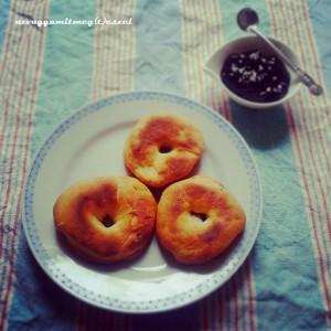 Sütőben sült farsangi fánk (tejmentes, tojásmentes)