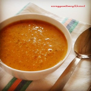 Egyszerű sárgarépa-krémleves