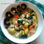 Hummusz fehér babból (gluténmentes, tejmentes, tojásmentes recept)