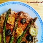 Fordított epertorta (gluténmentes, tejmentes, tojásmentes recept)