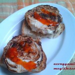 Tárkonyos erdei gomba ragu Nokedlivel (tejmentes, tojásmentes recept)