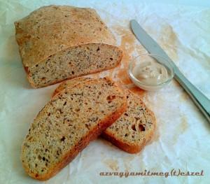 Sütőtökös - lenmagos kenyér