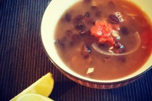 Mexikói feketebab leves