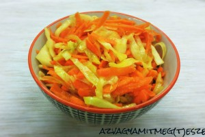 Ázsiai ihletésű coleslaw