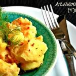 Tavaszváró tészta zöldségekkel, fokhagymával és olívával (tejmentes, tojásmentes, vegán recept)