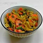 Babonézes burgonyasaláta (gluténmentes, tejmentes, tojásmentes, zsírszegény, vegán recept)