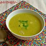 Édesburgonya-krémleves (gluténmentes, tejmentes, tojásmentes, zsiradékmentes, vegán recept)