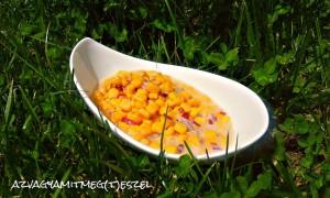Lila hagymás kukoricasaláta