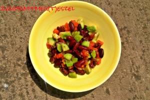 Mexikói vörösbab saláta