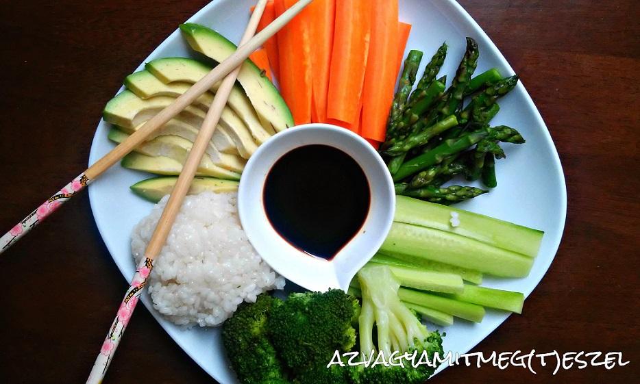 Sushi tál