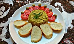 Zöld olívabogyós csicserikrém
