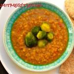 Curry-s gombapástétom (gluténmentes, tejmentes, tojásmentes, zsiradékmentes, vegán recept)
