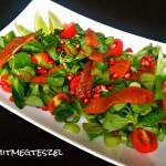 Paradicsomos csicseriborsó leves fodros kellel (gluténmentes, tejmentes, tojásmentes, vegán recept)