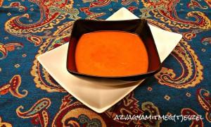 Gyömbéres sült paprika krémleves