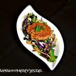 Kamramustra – Chilis bab sült (édes)burgonyában (gluténmentes, tejmentes, tojásmentes, zsiradékmentes, vegán recept)