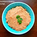 Tofus – babos egytál (gluténmentes, tejmentes, tojásmentes, zsiradékmentes, vegán)