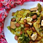 Tahinis sült karfiol püré (glutén-, tej-, tojásmentes, vegán, vegetáriánus)