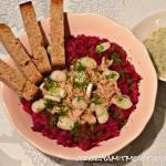Csicseriborsó-leves zöldségekkel (gluténmentes, tejmentes, tojásmentes, zsiradékmentes, vegán)