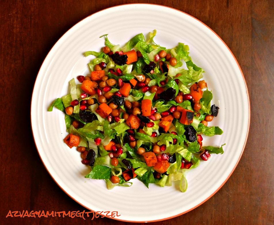 Langyos őszi saláta