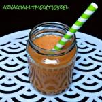 Szezámmagos – bazsalikomos zöldborsókrém (gluténmentes, tejmentes, tojásmentes, zsírszegény, vegán)