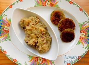 Csicseri majonézes krumplisaláta